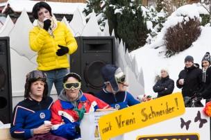 Hauptseer Fasnacht 2013 - Happy Day mit Vreni Schneider