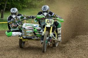 Motocross Muri 2013 - Seitenwagen Clohse/Strauss aus Belgien auf VMC Zabel